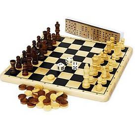 Шашки, шахматы, домино