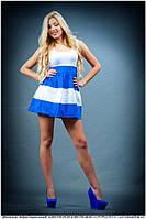 Платье с юбой в полоску, фото 1