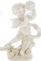 Ангел с тамбурином на подставке 15 см