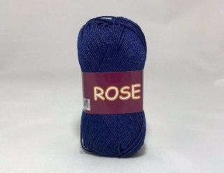 Пряжа хлопковая Vita Cotton Rose, Color No.4254 темно-синий
