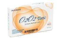 Контактные линзы Interojo O2O2 Toric для коррекции астигматизма 6шт.