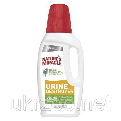 Устранитель Nature's Miracle «Urine Destroyer» для удаления пятен и запахов от мочи собак 946 мл 680074