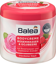 Крем для тела Balea   Bodycreme Rosenwasser & Gojibeere 500мл