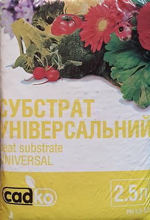 """Субстрат универсальный """"Садко"""", 2.5 л, фото 2"""