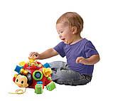 Развивающая музыкальная игрушка каталка сортер Жук 0957, фото 3