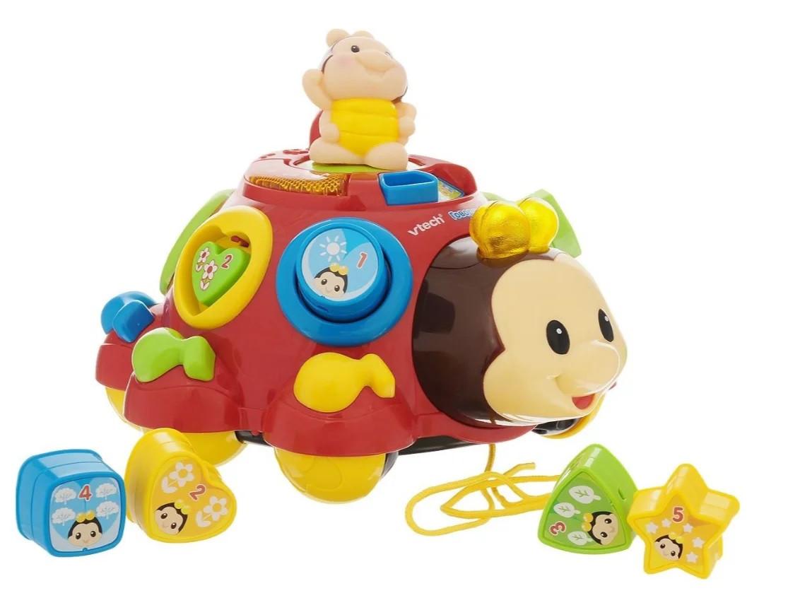 Развивающая музыкальная игрушка каталка сортер Жук 0957