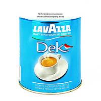 Кофе без кофеина Lavazza Dek молотый жб 250г