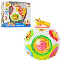 Музыкальный логический шар. Развивающая игрушка для малышей