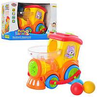 Детский музыкальный паровозик. Развивающая игрушка для малышей