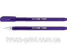 Ручка гелевая Economix TURBO фиолетовая