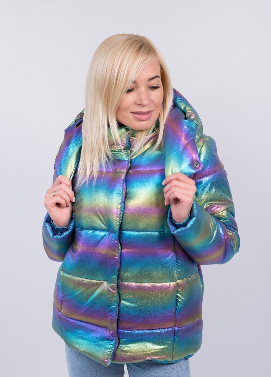 Красивая модная куртка Голограмма
