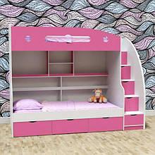 Двухъярусная детская кровать ДМ 505