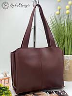 Женская сумка 084 бордо Купить женские сумки недорого Одесса 7 км, фото 1