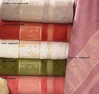 Полотенце бамбуковое махровое  Arya Simon 70х140