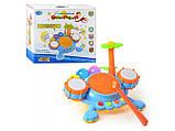Детский музыкальный игрушечный барабан для малышей с мелодиями и звуками арт.7351, фото 2