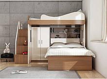 Двухъярусная кровать чердак ДКЧ 601