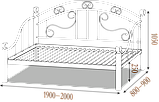 Кровать Леон, фото 2