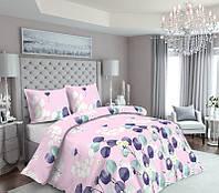Комплект постельного белья Наша Швейка Бязь Цветы на розовом Полуторный 150х215 см