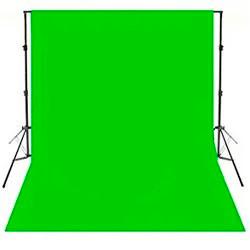 """КОМПЛЕКТ тканинний зелений фон """"Хромакей"""" (2х3м) з тримачем фону """"Ворота"""" GODOX 2030"""