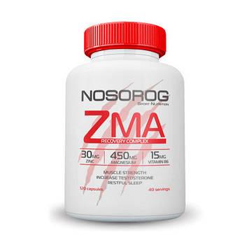 Бустер тестостерона Цинк Магний Аргинин NOSOROG ZMA (120 caps)