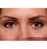 Коричневые цветные контактные линзы FreshLook Colorblends Honey
