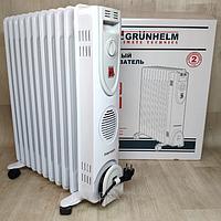 Масляный обогреватель (11 секций) 2,5 кВт Grunhelm GR-1125