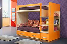 Детская двухъярусная кровать ДДК 08
