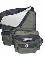 Тактическая сумка через плечо подсумок сумка спиннингиста мужская