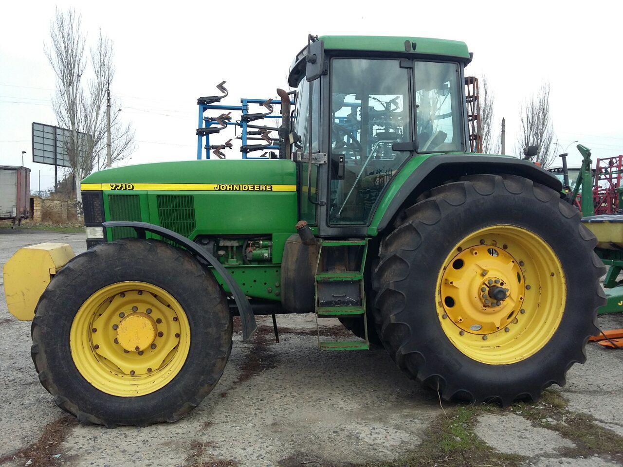 Трактор john deere 7710 160л.з