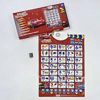 """Плакат 7289 """"Букваренок"""" Play Smart русский язык, в коробке"""