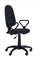 Зручне офісне комп'ютерне крісло на колесиках Престиж Люкс 50 АМФ-1 А-1