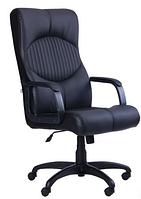 Зручне офісне комп'ютерне крісло на колесиках Геркулес Пластик Софт Неаполь N-20