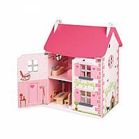 Кукольный домик Janod с мебелью (J06581)