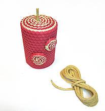 Гніт вощений 4 мм для свічок з вощини. Ціна за 1 метр.