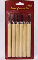 Резаки,стамески для мелкой резьбы 6 шт. в упаковке