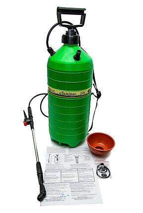 Опрыскиватель пневматический Лемира 10 литров ОП-202, фото 2