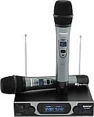 Радіосистема Shure SH-999R, база, 2 мікрофона + Кейс (14166)