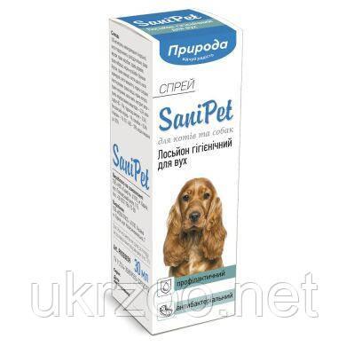 Спрей для ухода за ушами Природа Sani Pet 30 мл PR020059