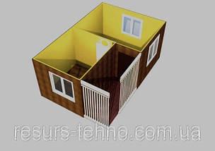 Проекти дачних будиночків 6м х 4м