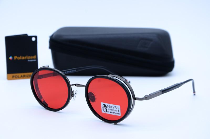 Сонцезахисні овальні окуляри унісекс Havvs 68001 C