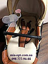 Детская коляска 2 в 1 Classik ( Классик) Victoria Gold эко кожа кор-беж, фото 6