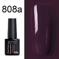 Гель-лак GDCOCO бордово-фіолетовий марсала 808а (8 мл)
