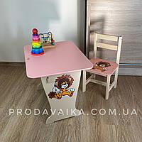 Детский стол!Стол-парта и стульчик классический.Подарок!Подойдет для учебы, рисования, игры