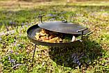 Сковородка 50 см с крышкой и чехлом Буковинка, фото 4