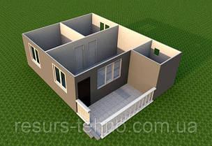 Проекти дачних будиночків 6м х 8м