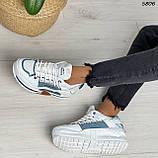 Кроссовки женские белые 5806, фото 7