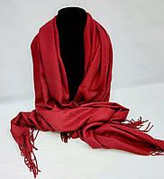 Кашемировый женский теплый шарф шаль палантин