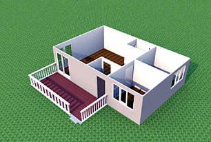 Проекти дачних будиночків 6м х 9м