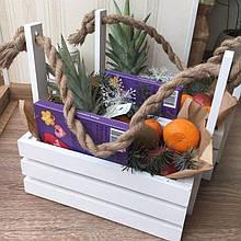 Ящики декоративные для подарков и цветов