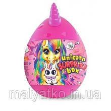 """Подарунковий набір для творчості """"Unicorn Surprise Box"""" РОЖЕВИЙ арт. USB-01-01"""